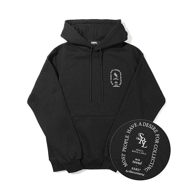memorial hood / black