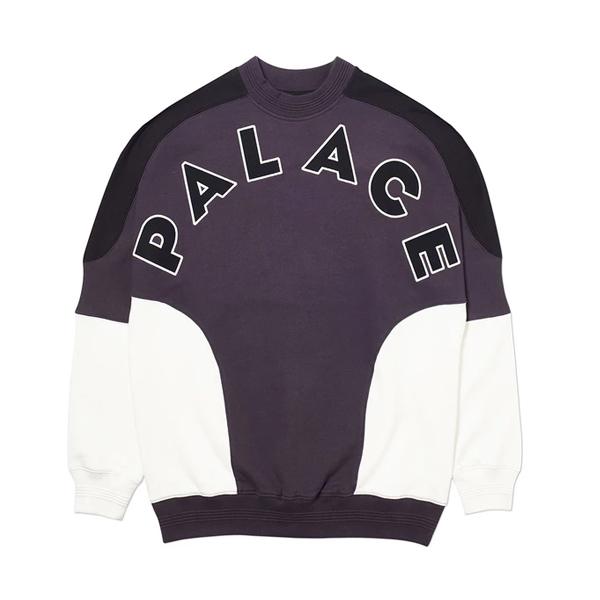 [해외]팔라스 로운드하우스 2 맨투맨 티셔츠 블랙/화이트