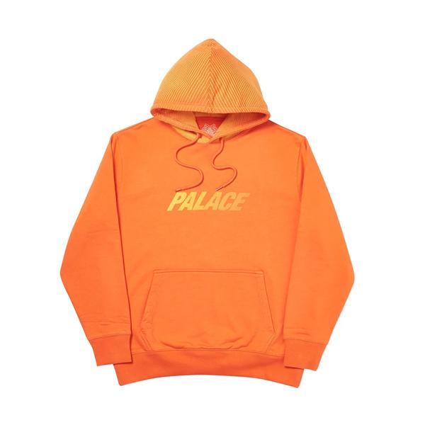 [해외]팔라스 레이서 라인 후드 티셔츠 오렌지