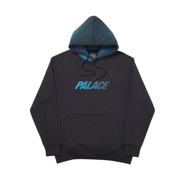[해외]팔라스 레이서 라인 후드 티셔츠 블랙