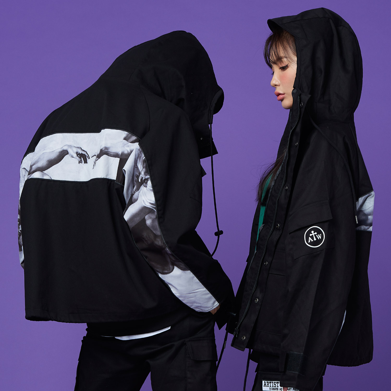 [사은품증정][단독할인][량하/지안 착용][ATW X CB] 제네시스 바람막이 자켓