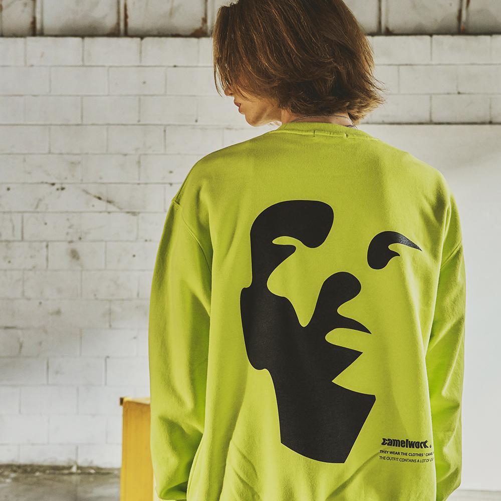 Face Sweatshirts(Neon)