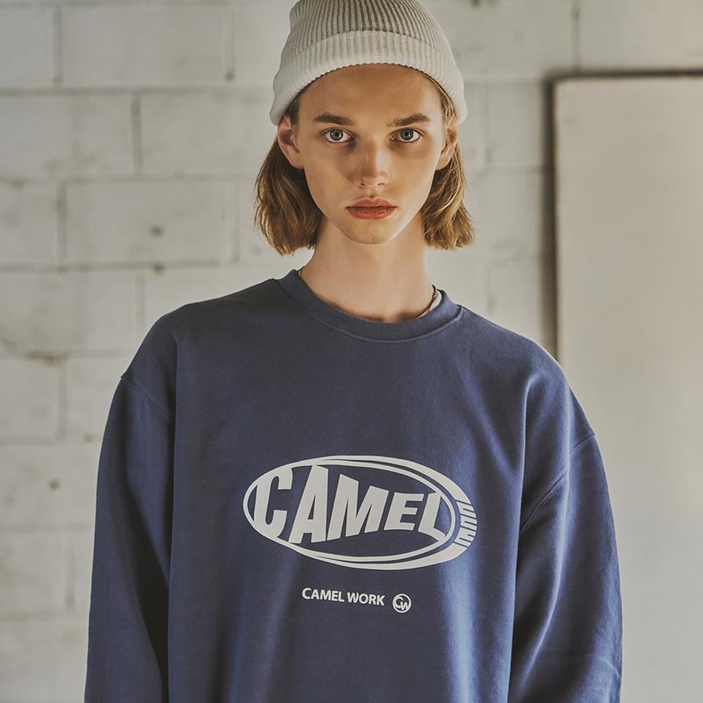 Step Logo Sweatshirts(I.Blue)