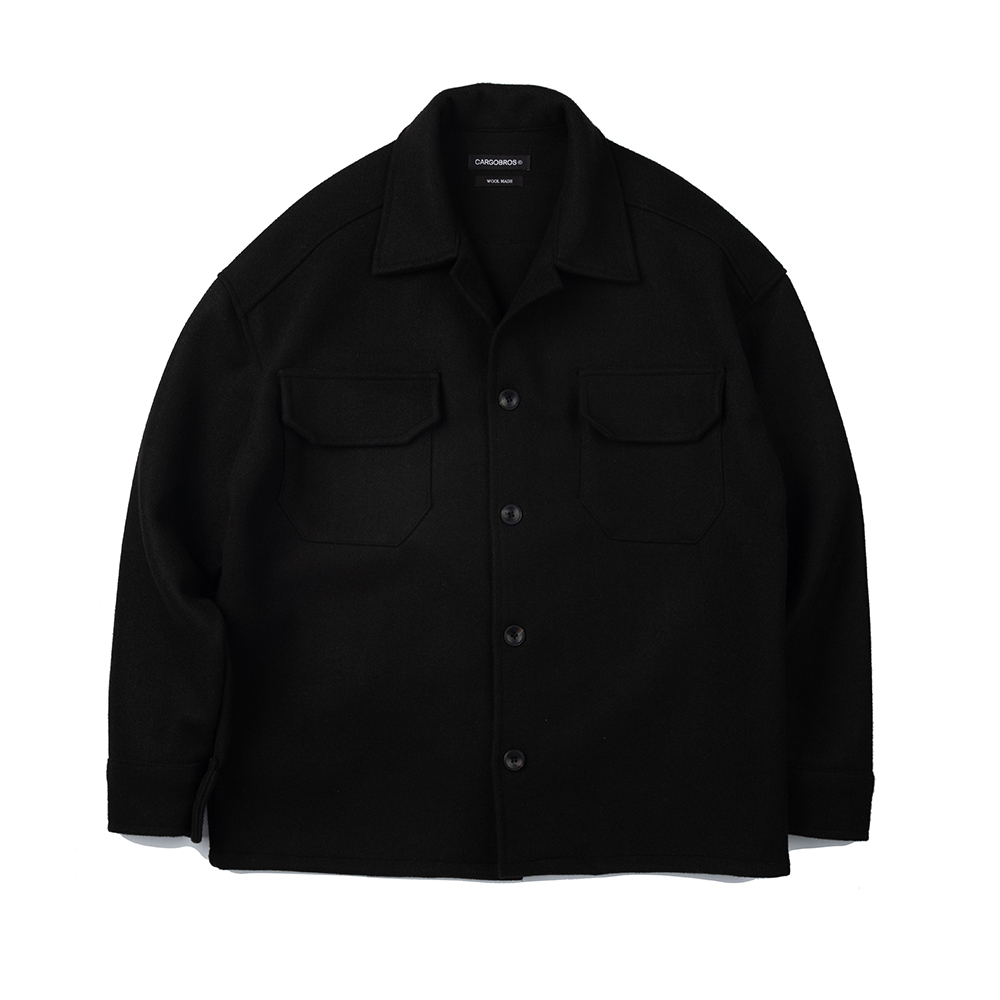 CB Wool Jacket (BLACK)