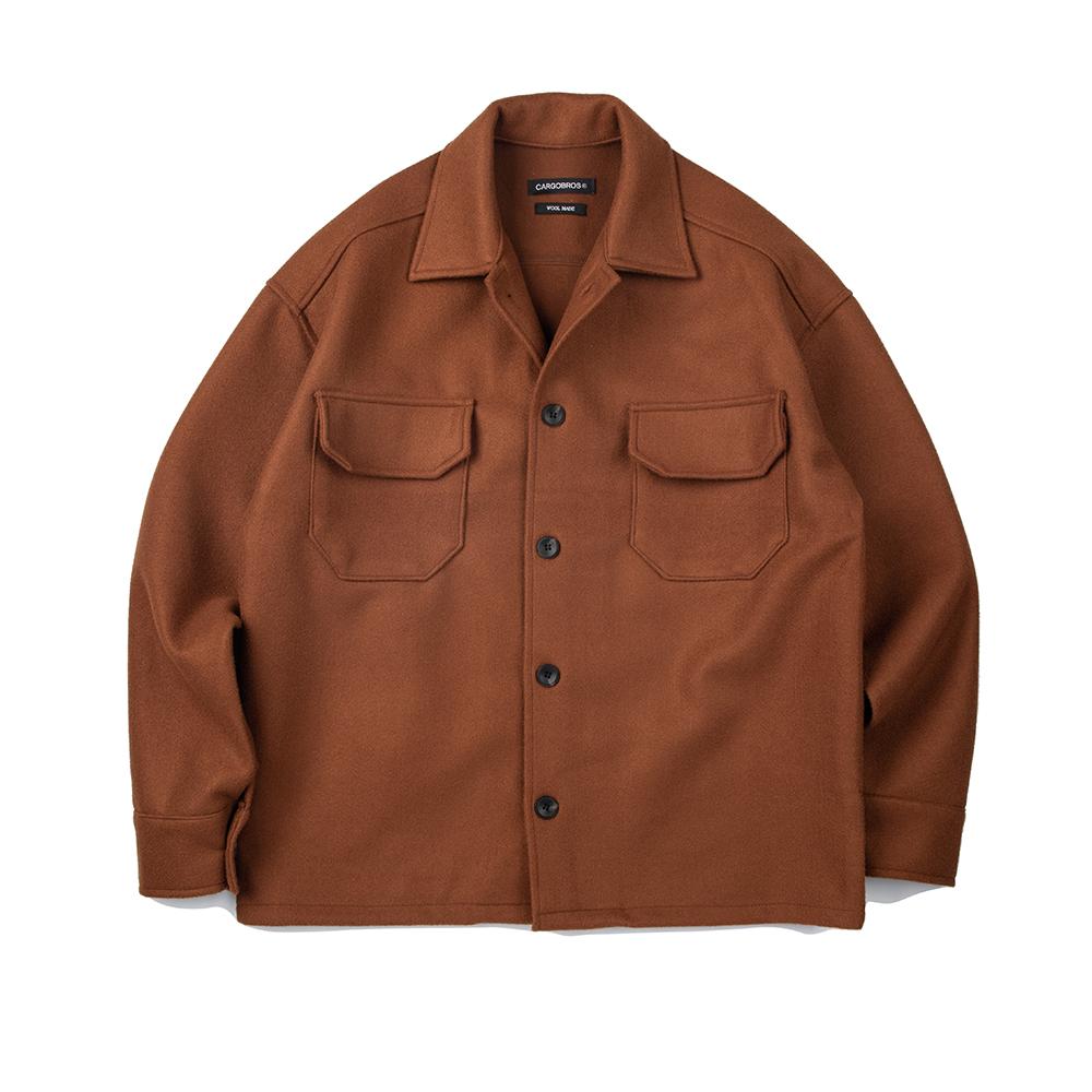 CB Wool Jacket (CAMEL)