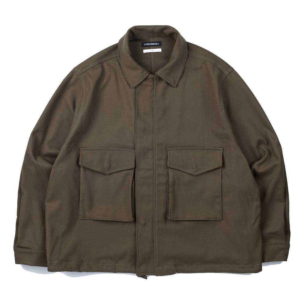 CB Basic Pocket Jacket (KHAKI)