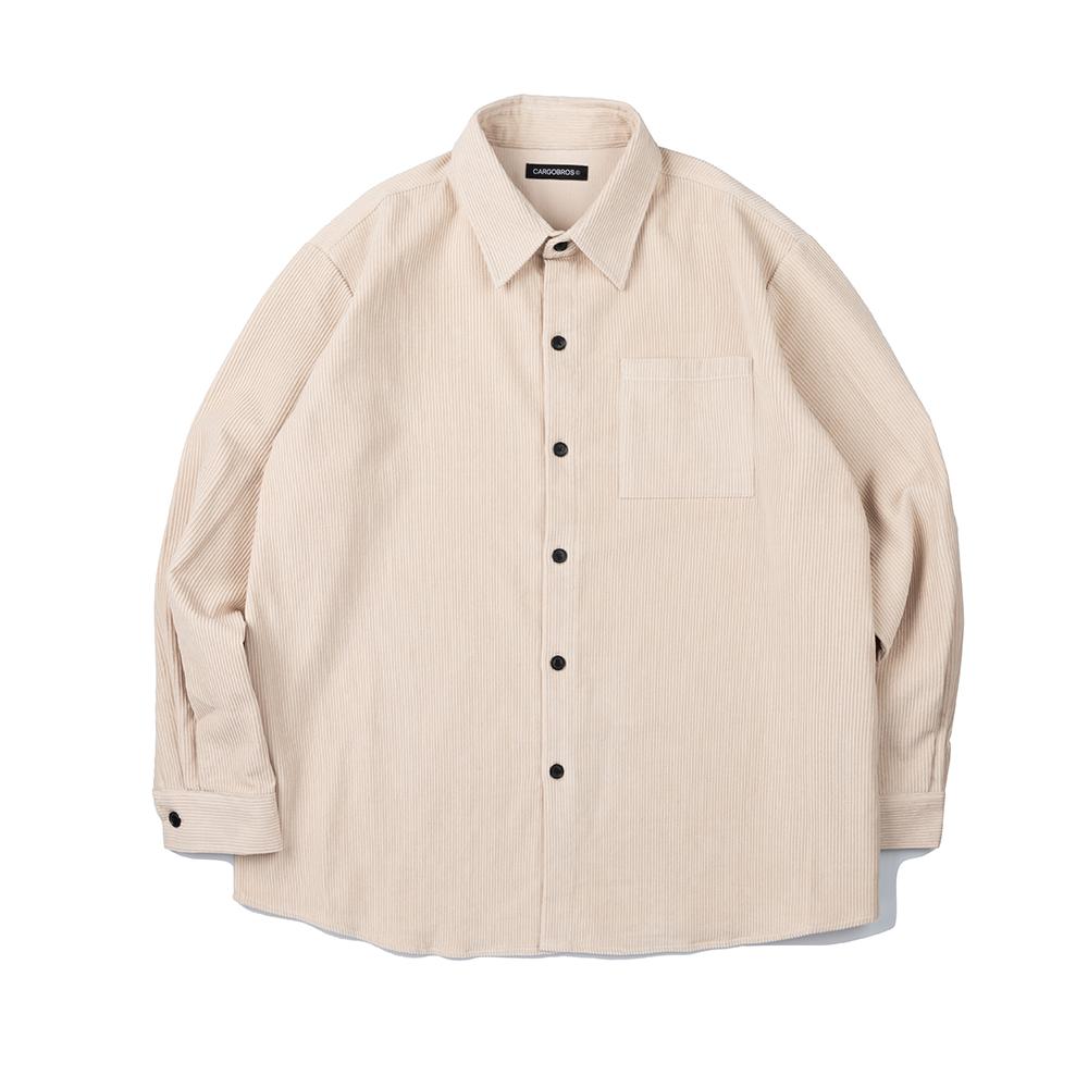 CB Corduroy Shirt (IVORY)