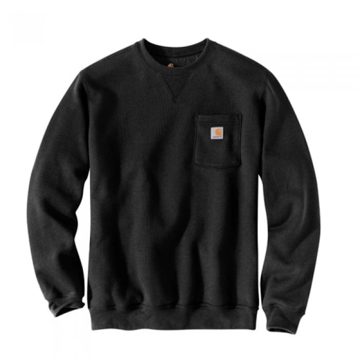 [칼하트 맨투맨] (103852) POCKET CREWNECK-BLK