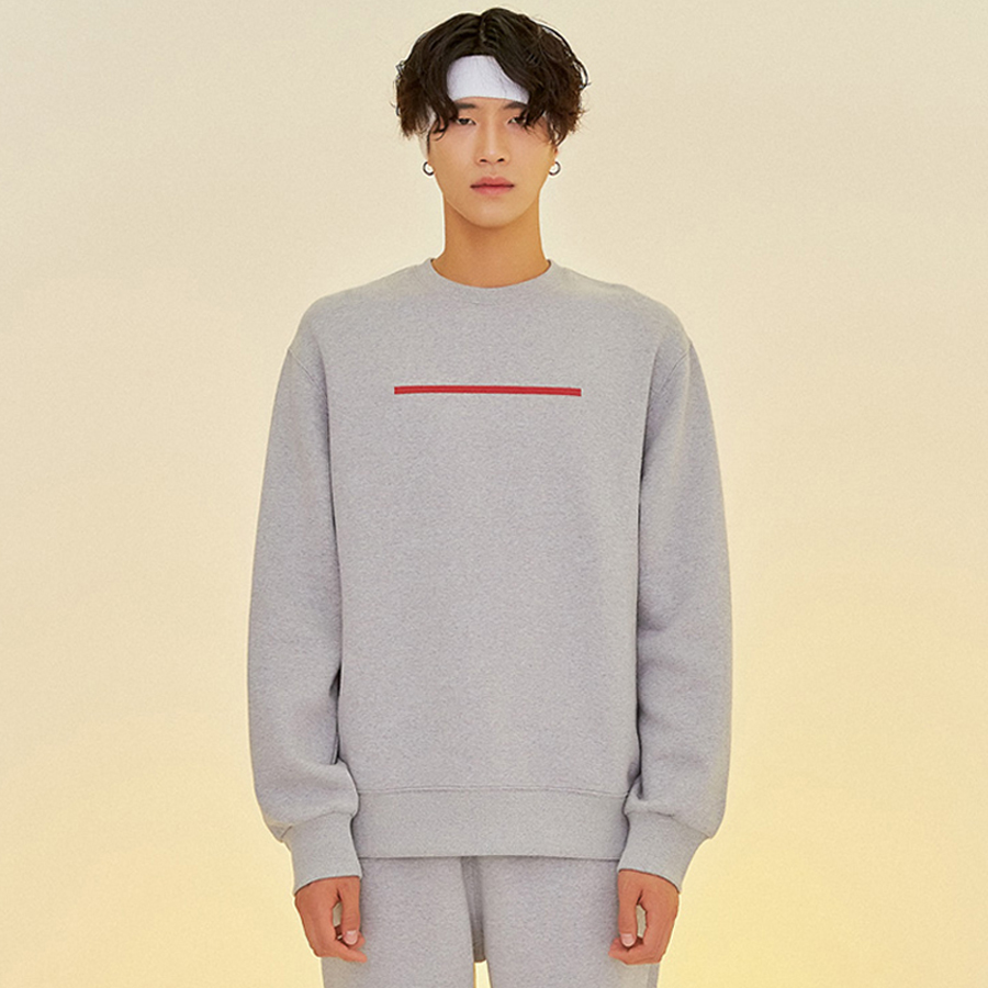[입점세일]BAR LOGO SWEATSHIRT L/M.GREY