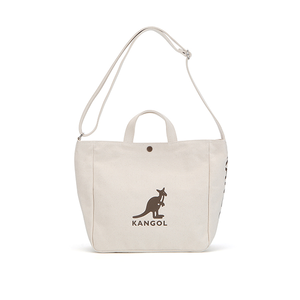Canvas Tote Bag Harper 3747 BEIGE/BROWN