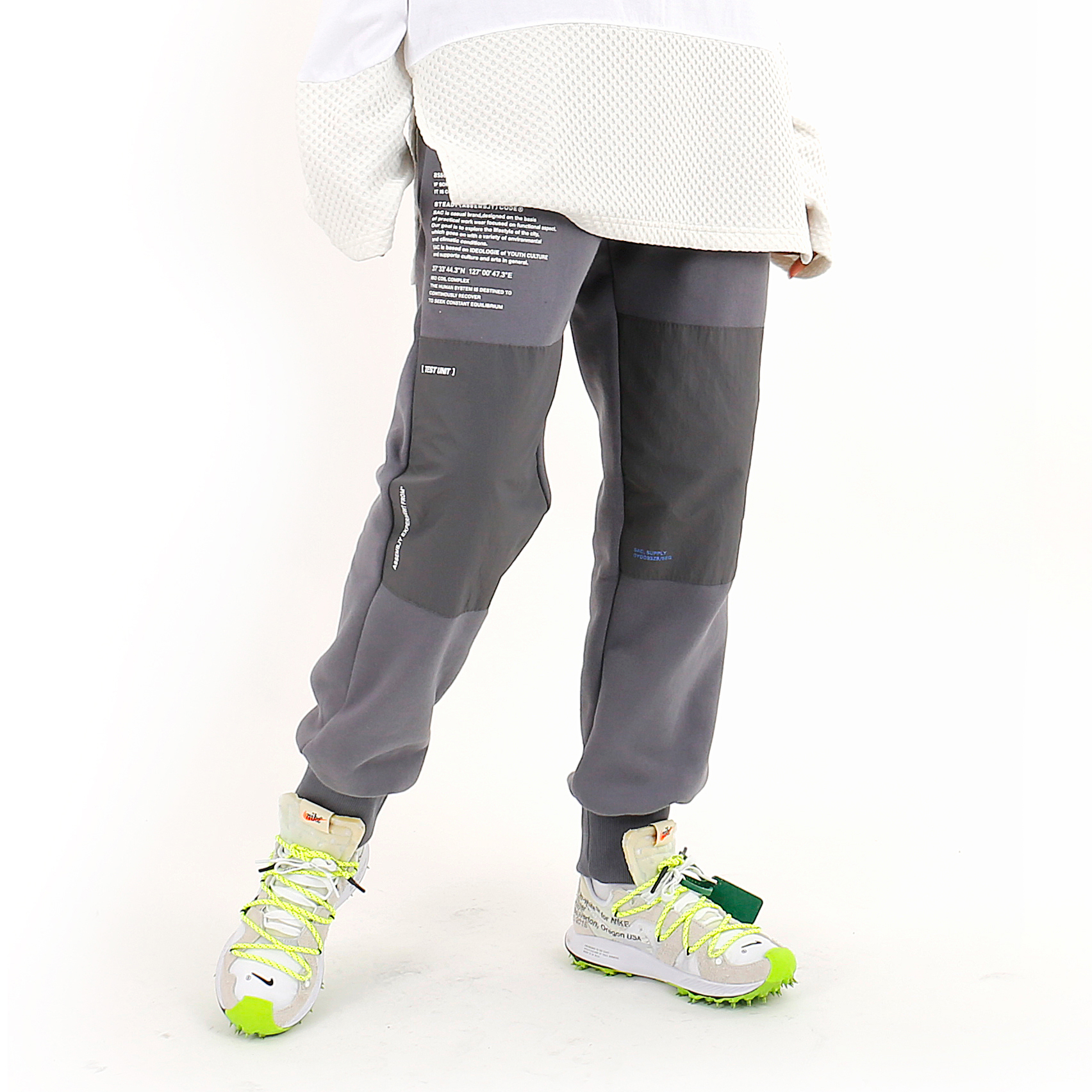 DIVISION SWEAT PANTS GRAY