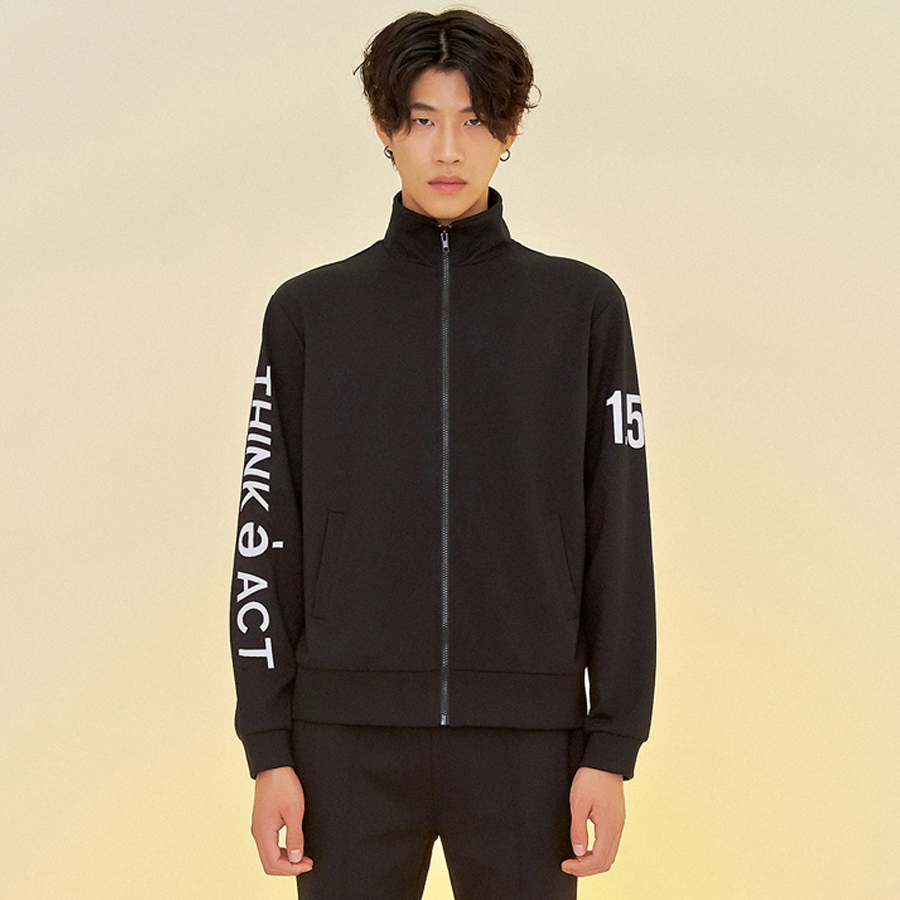 [입점세일]THINK TRACK TOP BLACK
