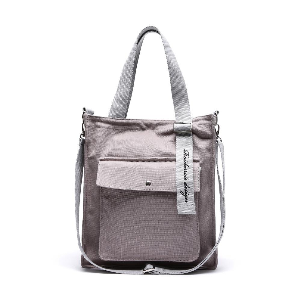 NEW AH CHOO SHOULDER BAG (GRAY)