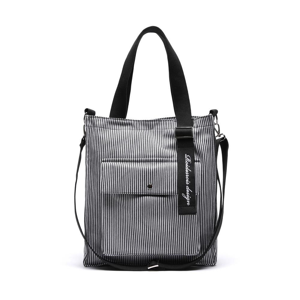 NEW AH CHOO SHOULDER BAG (STRIPE)