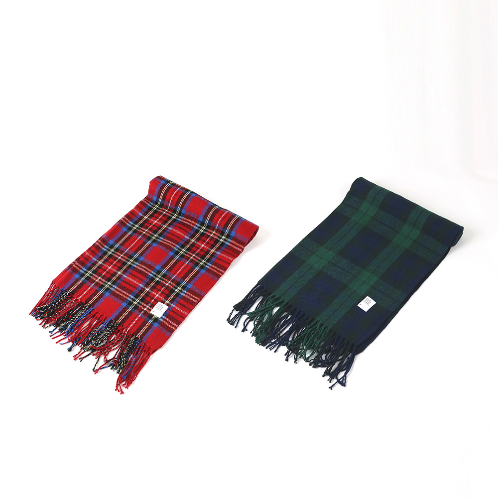 247 TARTAN PLAID MUFFLER [2 COLORS]