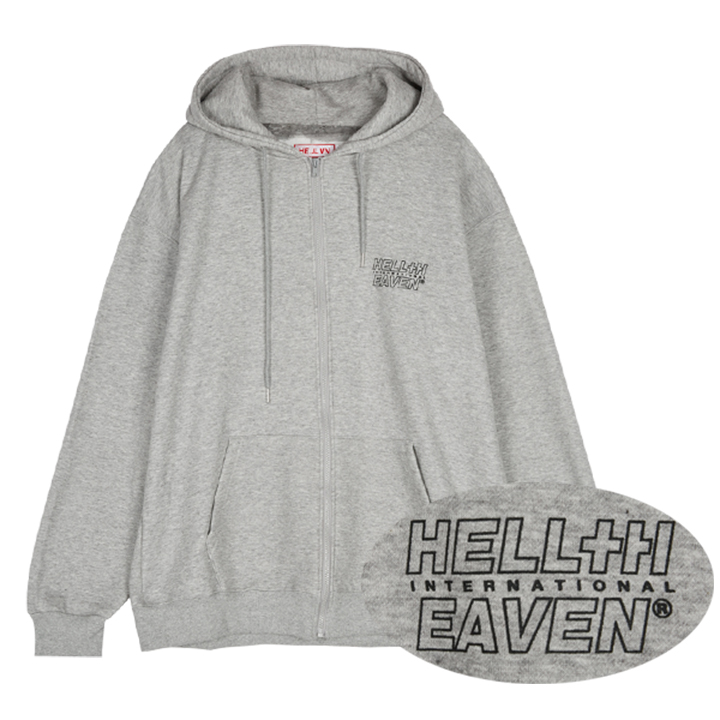Hellvn - Empty Og Logo (SHZHV-6019) - 후드집업