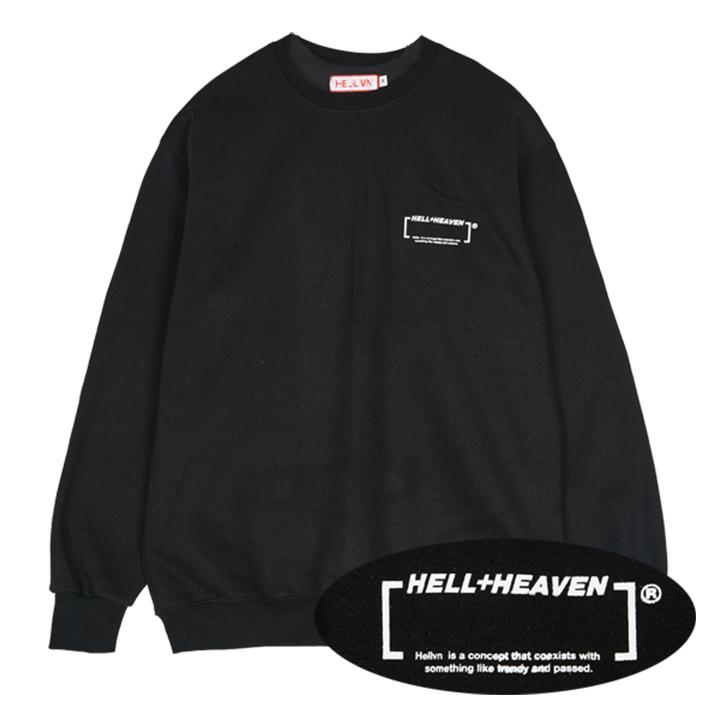 Hellvn - LOGO BLANK (SHMHV-6015) - 맨투맨