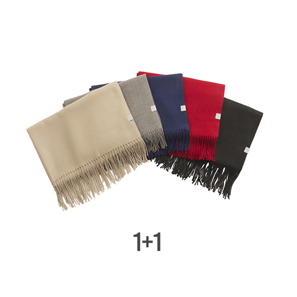 [1+1] 247 CASHMERE MUFFLER [6 COLORS]