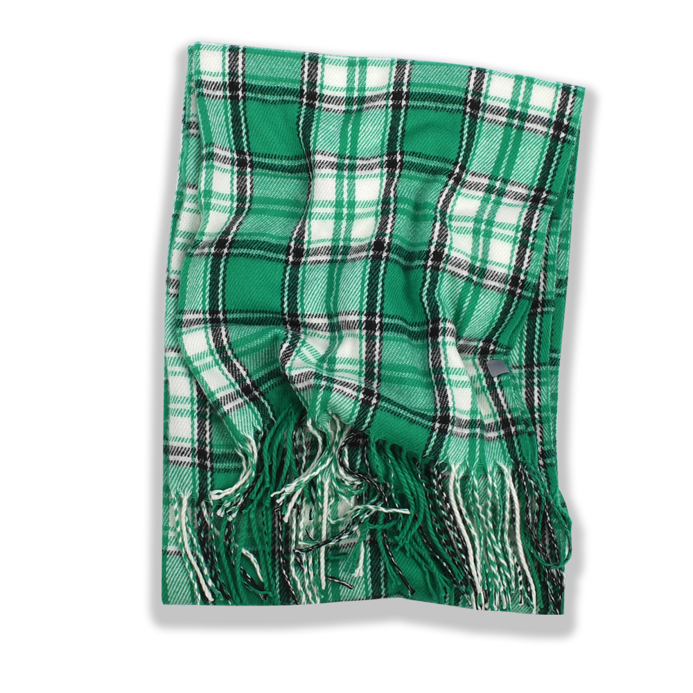 247 CLASSIC PLAID MUFFLER [GREEN (SCOTT MODERN)]