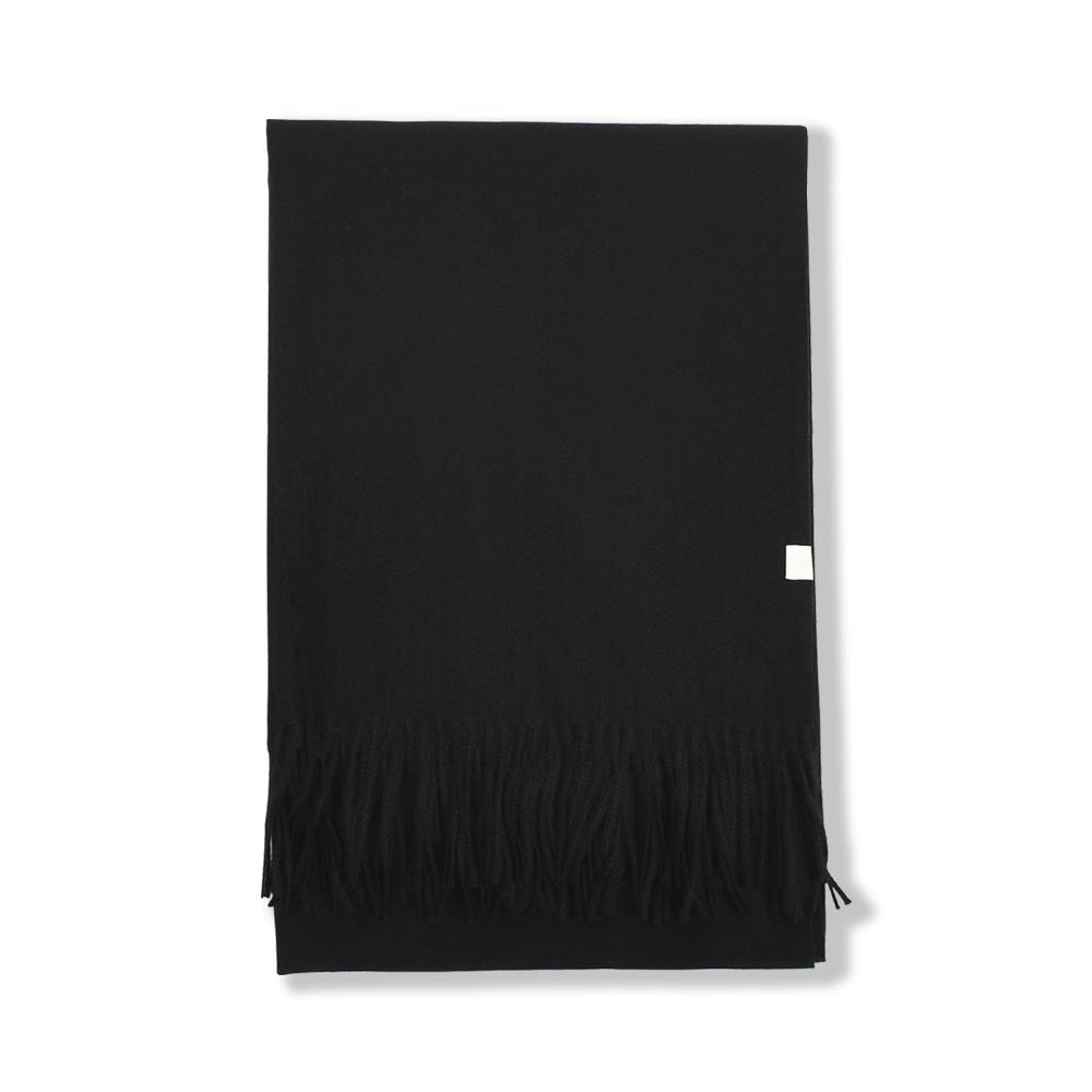 247  PREMIUM CASHMERE MUFFLER [BLACK]