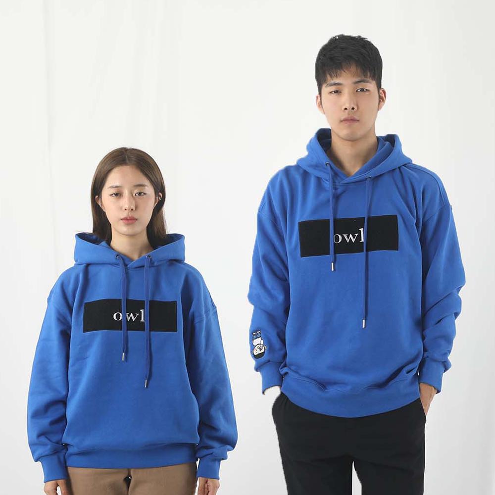 [입점특가]OWL 벨크로 후디 / 블루