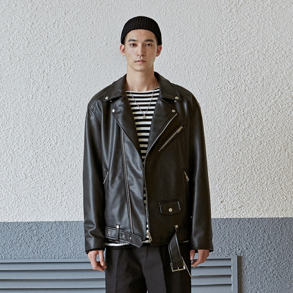 STAND OVER RIDER JACKET_BLACK