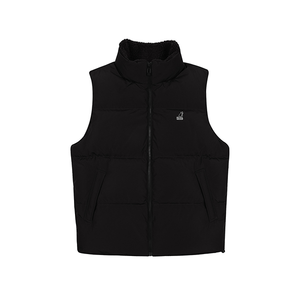 Club Down Vest 6115 BLACK