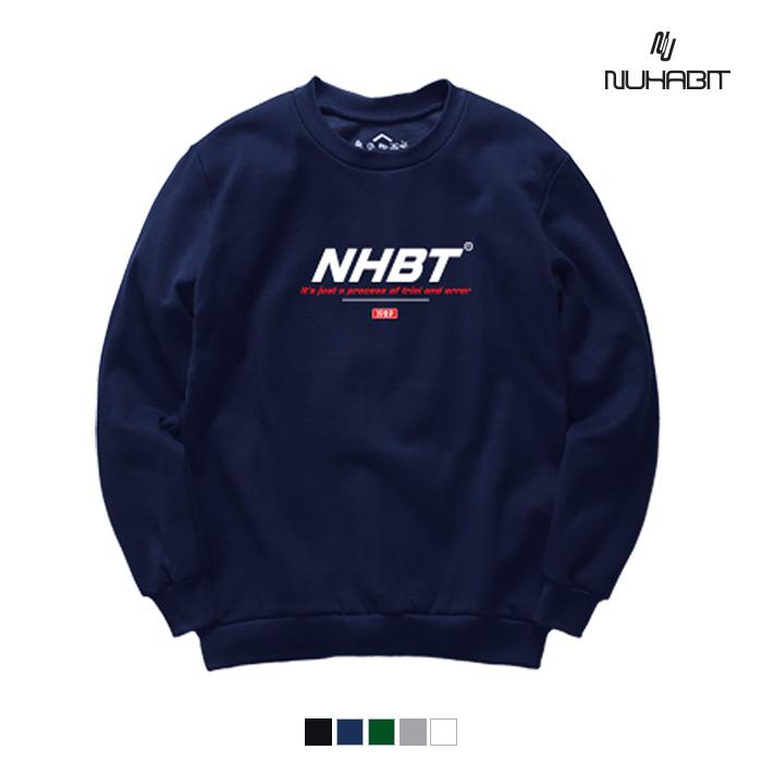 뉴해빗 - NHBT RED (SBMNH-1006) - 맨투맨
