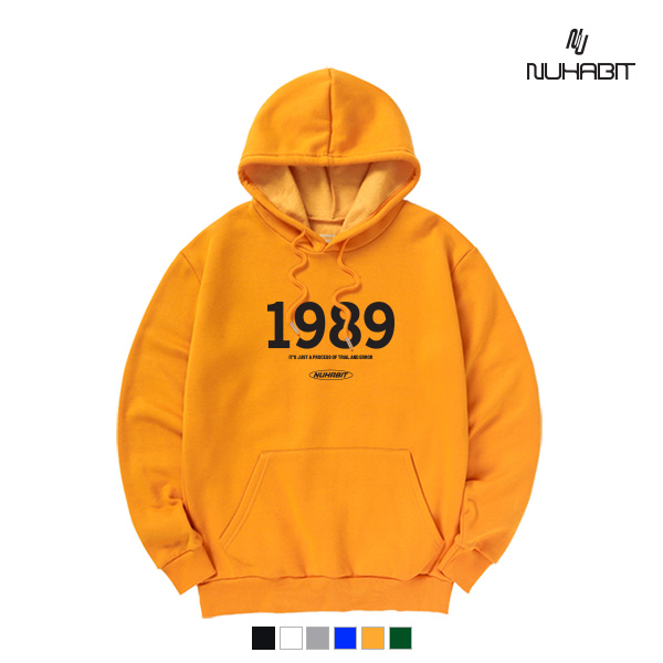 뉴해빗 - 1989 LOGO - (SBH9S-7098) - 후드