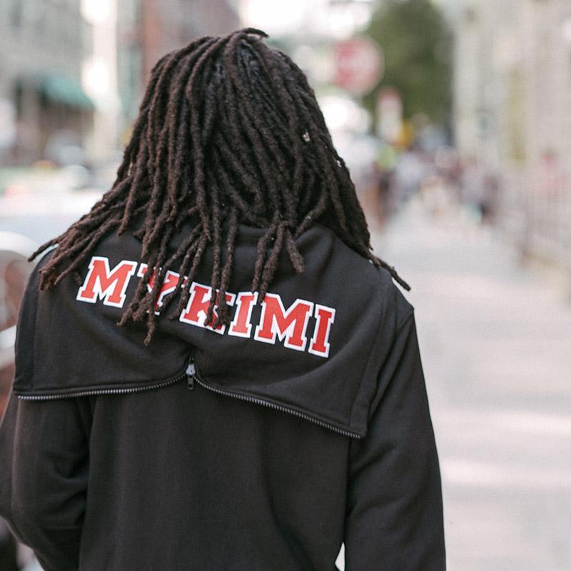 [기모] MYKIMI 2 way zip up hoodie