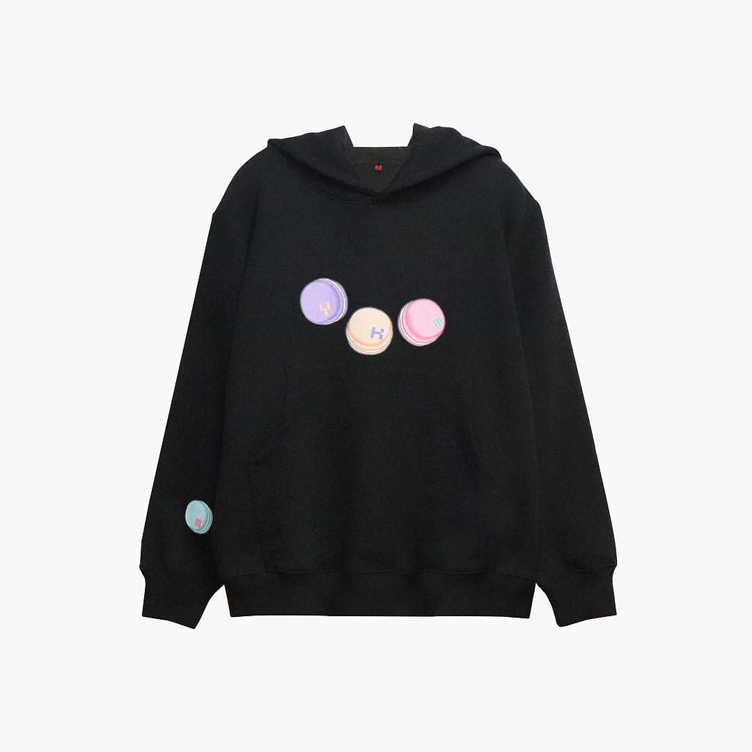 [결산세일][기모] MYKIMI Macaron hoodie