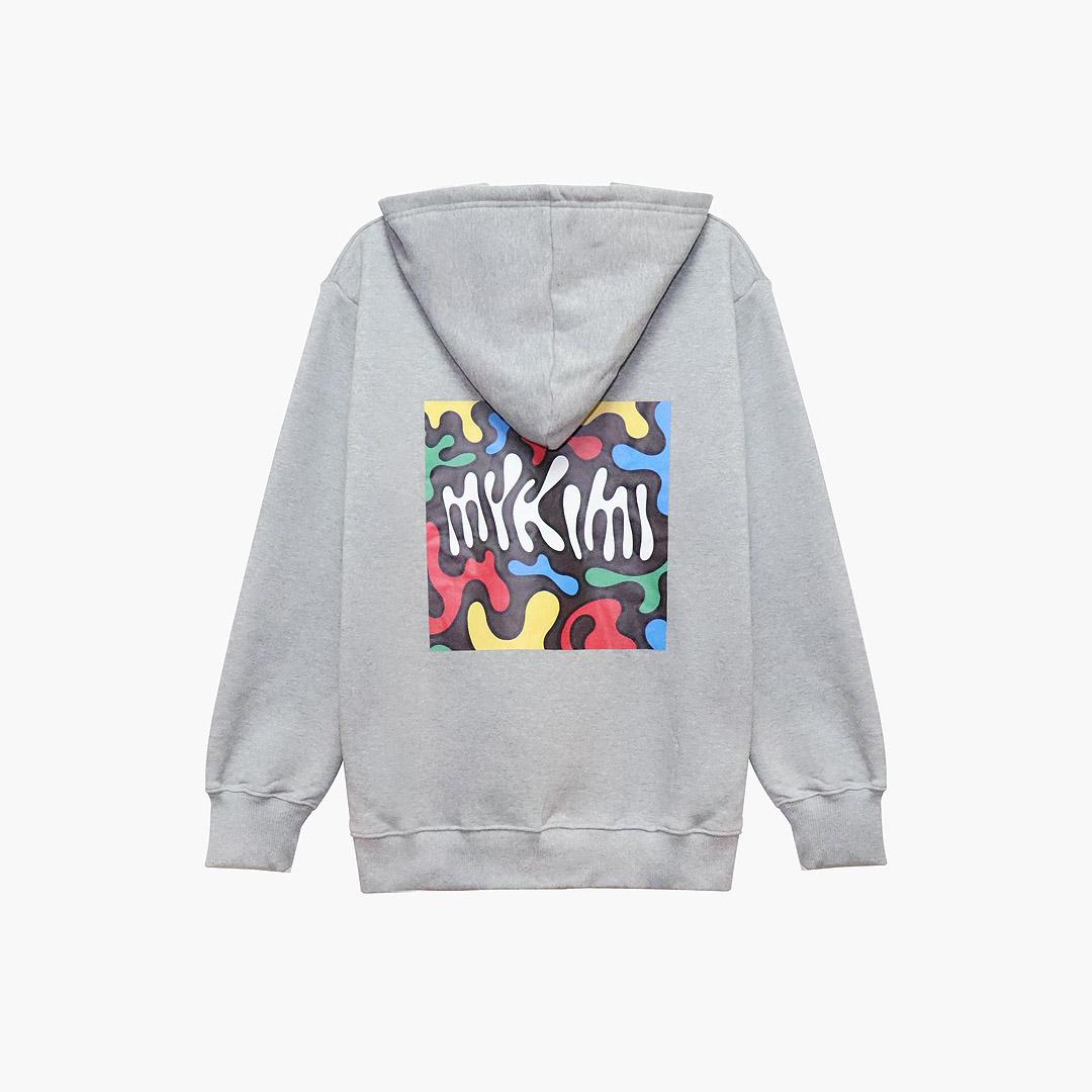 [결산세일][기모] MYKIMI Chocolate hoodie