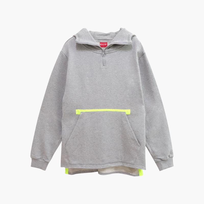 MYKIMI Neon anorak hoodie