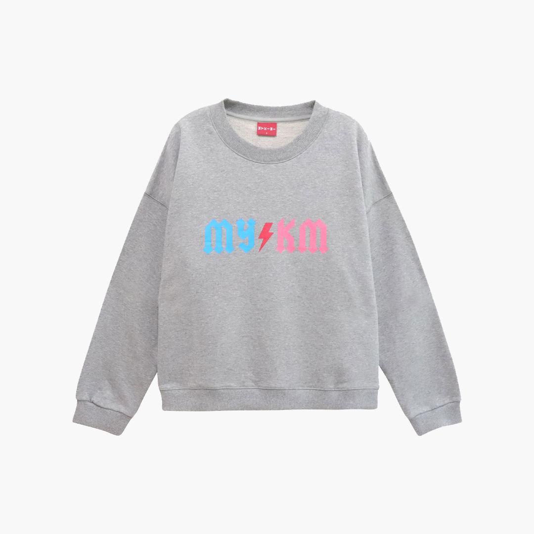 MYKIMI Thunder sweat shirt Gray