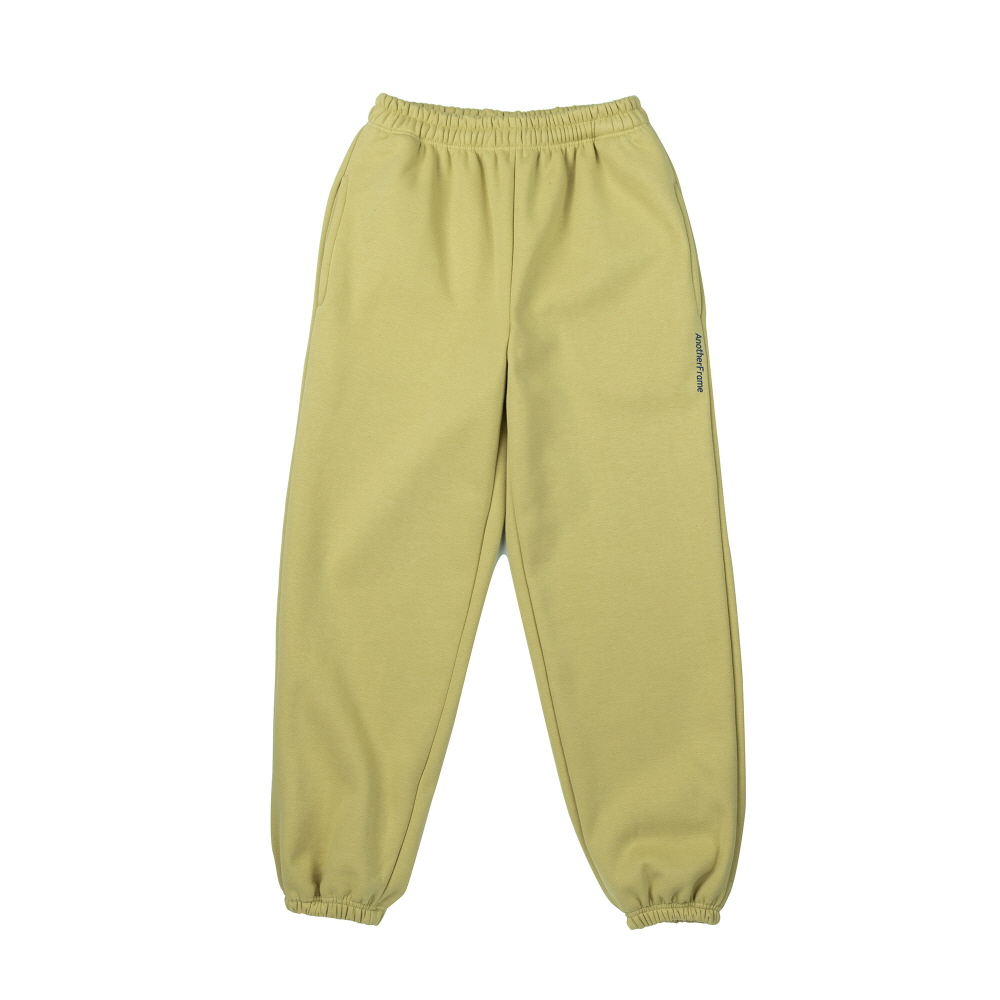 [어나더프레임] COZY SWEAT PANTS (OLIVE GREEN)