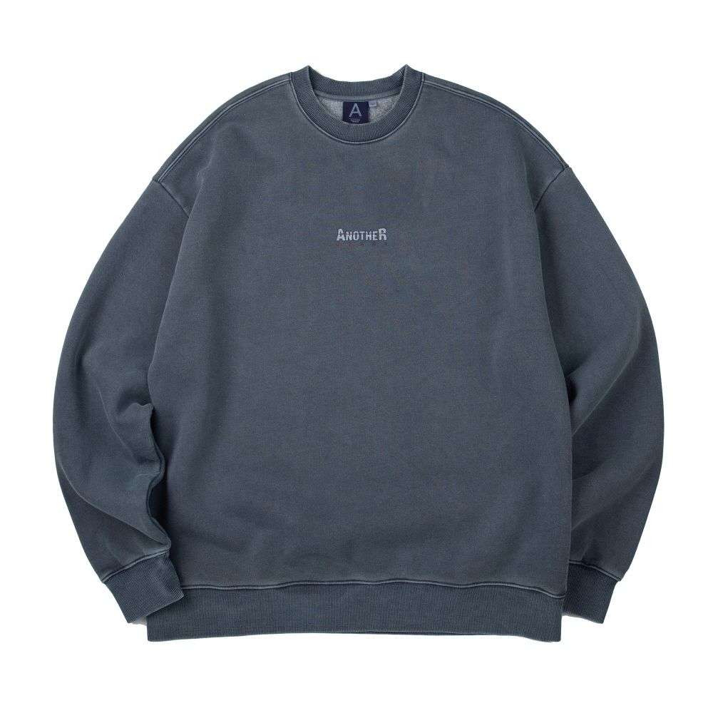 [어나더프레임] ANOTHER GAP PIGMENT CREWNECK (BLUE)