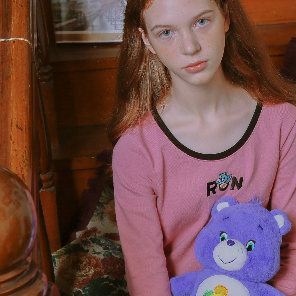 CARE BEARS X RONRON LONG SLEEVE T-SHIRTS INDIPINK