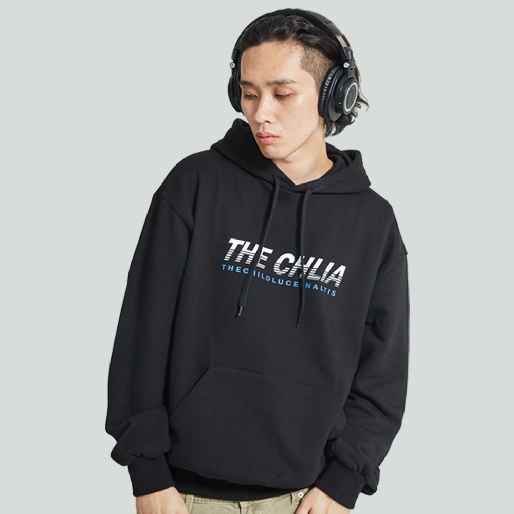 [입점특가]THE CHLIA CLA 150 - PLANET HOODIE BLACK