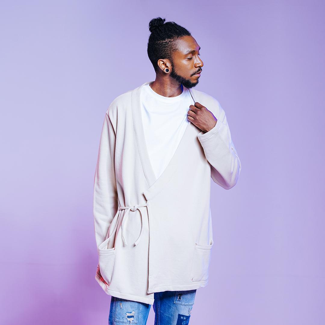 MYKIMI Cotton robe
