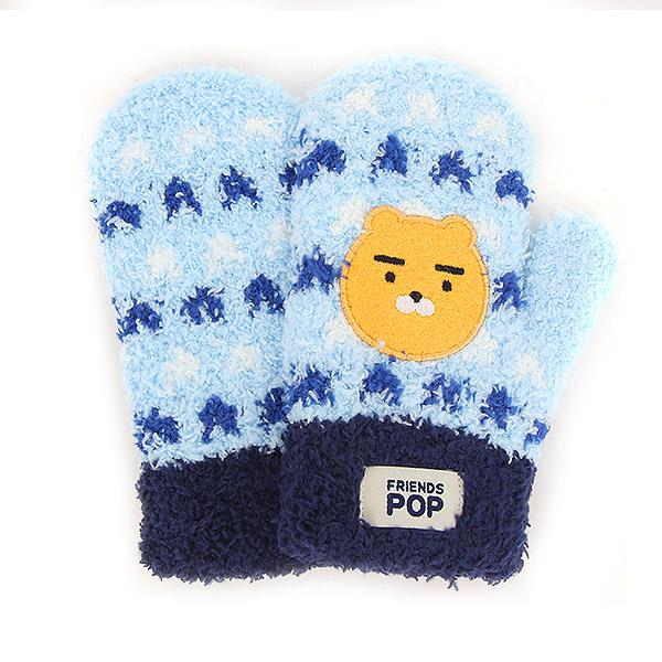 카카오프렌즈 날개사벙어리장갑 [컬러패턴-60011]