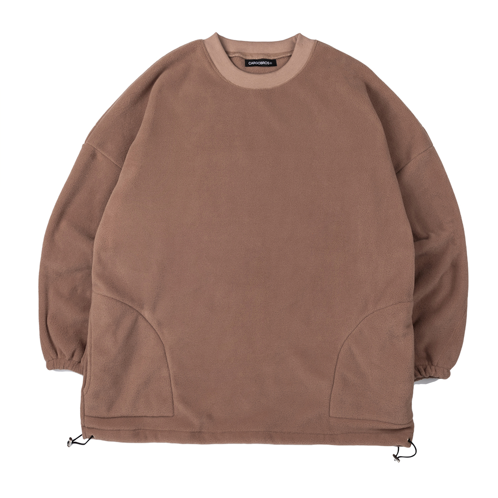 CB Over Fit Fleece (BROWN)
