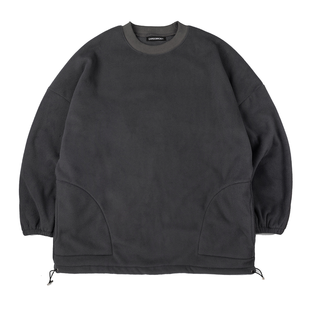 CB Over Fit Fleece (CHARCOAL)