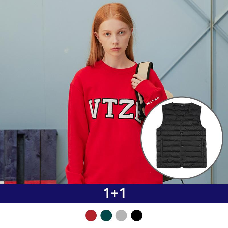 [1+1] Light Down Vest + Boucle MTM