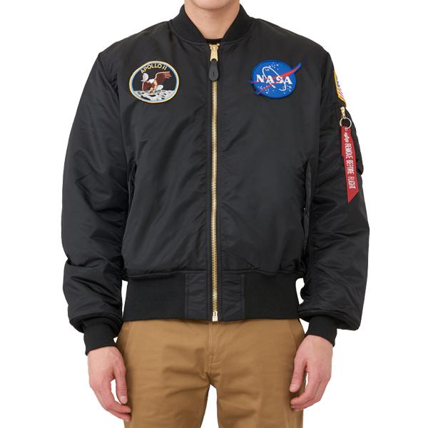 [해외]알파인더스트리 아폴로 MA-1 항공점퍼 MJM21097C1