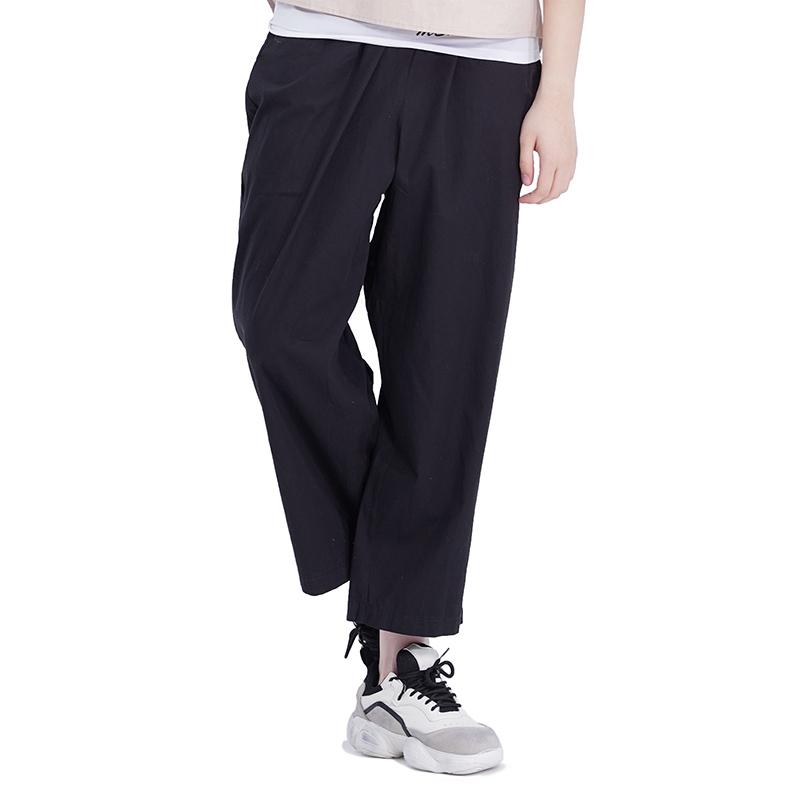 (UNISEX) Royal M Wide Pants (BLACK)
