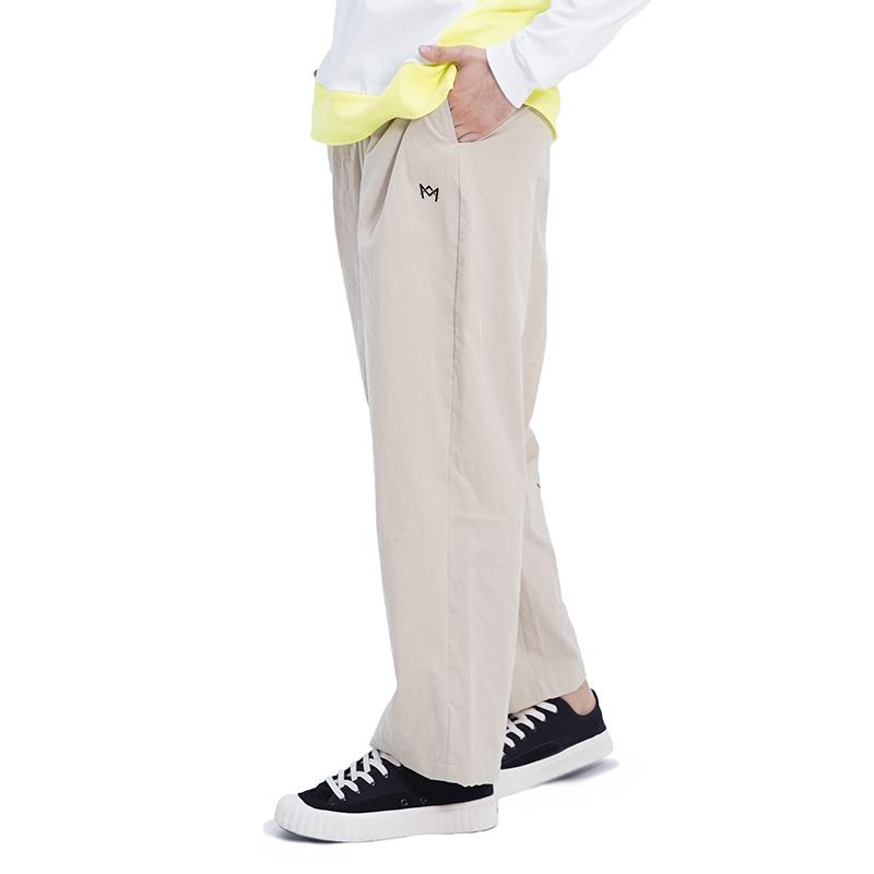 (UNISEX) Royal M Wide Pants (BEIGE)