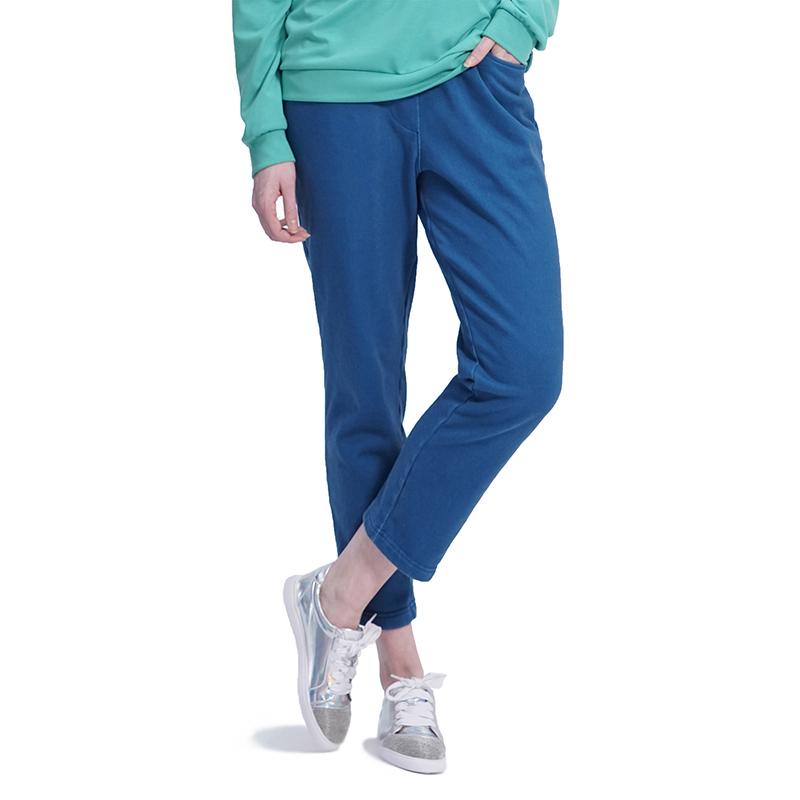 (UNISEX) Bio washing Pants (BLUE)