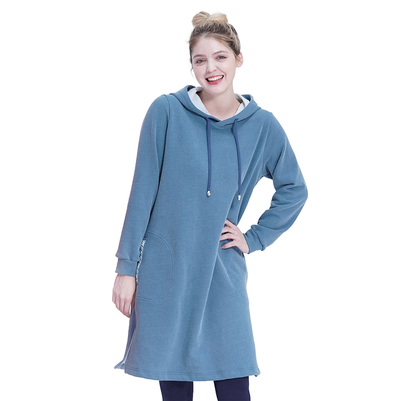 Pocket Long Hood One-piece (BLUE)