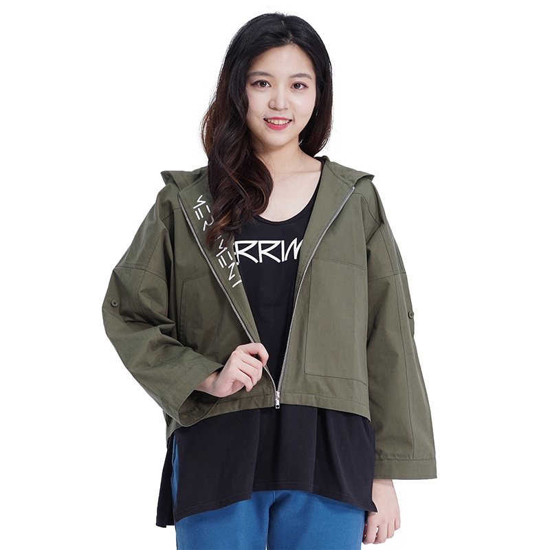 MMM Roll-up Jacket (KHAKI)