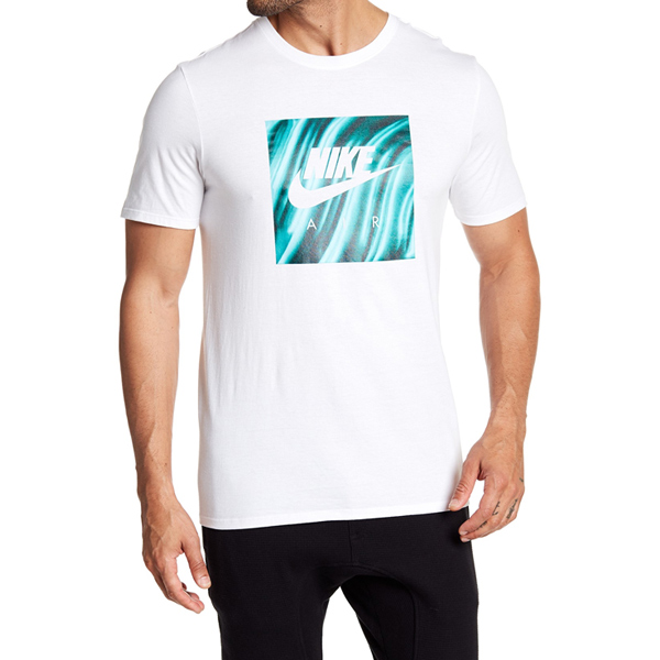 [해외]나이키 FOAM SHOE 티셔츠 화이트 그린 AH6968-101